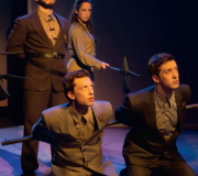 <span class=gallery-multiple>While stage directions indicate that the Woodvilles are murdered offstage, would you as a director include their murders in the production for dramatic effect? | Donald Cooper / Photostage</span>